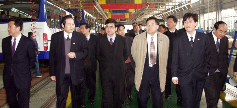 重庆巴南党政代表团莅临宇通